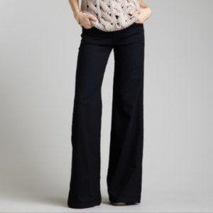 7FAMK Black Denim THE TROUSER Jeans 29